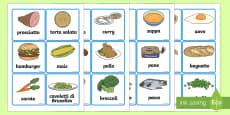 Illustrazioni degli Alimenti
