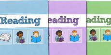 A4 Reading Divider Covers