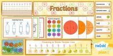 PlanIt Y3 Fractions Display Pack