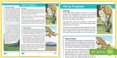 Harry Ferguson Fact File