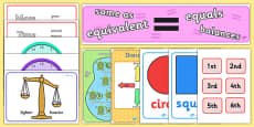 KS1 Maths Display Pack Year 1