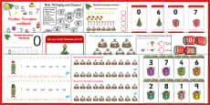 Christmas Numeracy Resource Pack