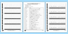 Year 3 and 4 Spelling Test Practice Pack