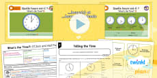 PlanIt - Year 4 French - What's the Time? Lesson 1: O'Clock and Half Past Lesson Pack