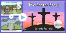 The Easter Story PowerPoint Romanian Translation