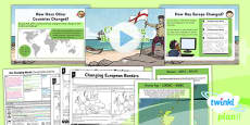 PlanIt - Geography Year 6 - Our Changing World Lesson 4: Changing Boundaries Lesson Pack