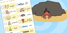 Australia - Seaside Hunt Checklist