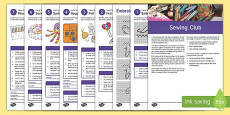 Sewing Club Guidance and Plans for Teachers