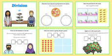 Maths KS1 Introducing Division Activity Flipchart