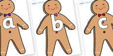 Phoneme Set on Gingerbread Man