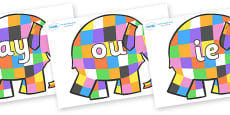 Phase 5 Phonemes on Elmer to Support Teaching on Elmer