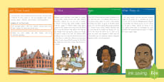 Civil Rights Movement Fact Cards