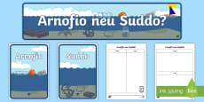 * NEW * Pecyn Adnoddau Arnofio a Suddo