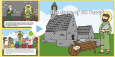 St David's Day Mouse Control PowerPoint
