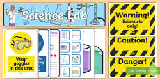 Science Lab Role Play Pack