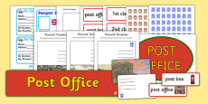 Post Office Role Play Pack