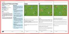 LKS2 Football Skills 4: Turning Lesson Pack