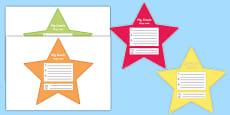 My Goals Pupil Target Stars Polish Translation