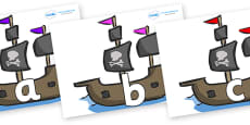 Phoneme Set on Pirate Ships