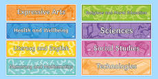 Back to School Cfe Banner Display Pack