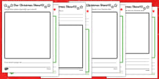 Christmas Production Activity Sheet Pack