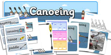 The Olympics Canoeing Resource Pack