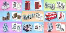 London Paper Model Resource Pack