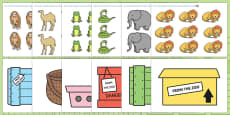 How Many Can We Fit in The Box Game to Support Teaching on Dear Zoo