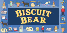 Display Borders to Support Teaching on Biscuit Bear