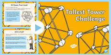 Tallest Tower Challenge PowerPoint