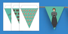 Victorians Themed Display Bunting