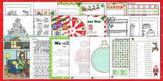 2-3 Christmas Activity Pack USA