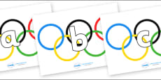 Phoneme Set on Olympic Rings