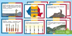 Despre România Cartonașe informative