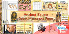 PlanIt - Art UKS2 - Ancient Egypt Unit Additional Resources