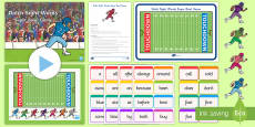 Dolch Sight Words Super Bowl 2017 Game