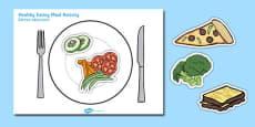 Healthy Eating Meal Activity Polish Translation