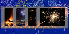 Bonfire Night Display Photos