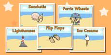 Editable Class Group Signs (Seaside)