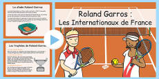 Roland-Garros Information PowerPoint French