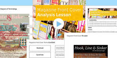 Magazine Front Cover Analysis Lesson Pack