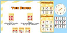 THR Spinner Bingo