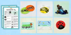 EYFS Minibeasts Craft Activity and Accompanying Planning Pack