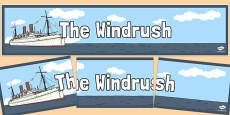 The Windrush Display Banner