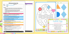 Easter Egg EYFS Interactive Poster Plan and Resource Pack