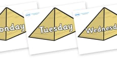 Days of the Week on Pyramids
