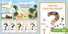 Arabian Animals Camouflage PowerPoint