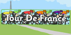 Tour de France Display Banner