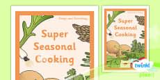 PlanIt - D&T UKS2 - Super Seasonal Cooking Unit Book Cover