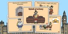 The Gunpowder Plot Story Sequencing Polish